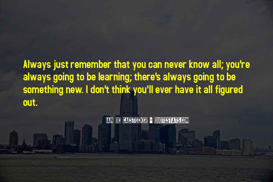 Quotes About I'll Always Remember You #1851950