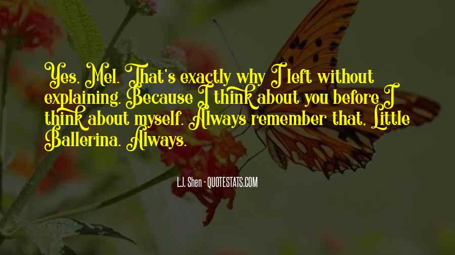 Quotes About I'll Always Remember You #499856