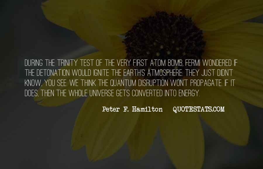 Detonation Quotes #109537