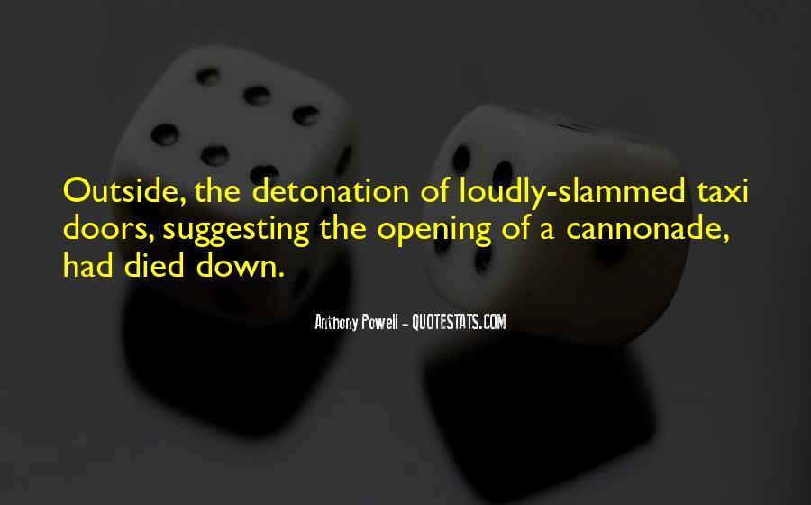 Detonation Quotes #1172816