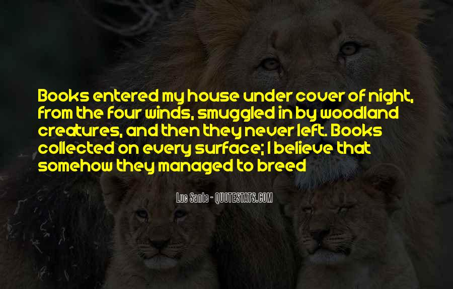 Quotes About Woodland Creatures #285945