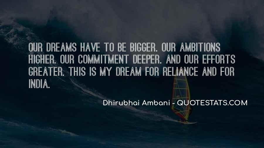 Dhirubhai Quotes #552303