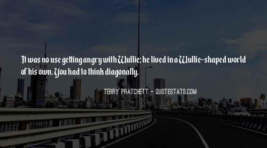 Diagonally Quotes #911002