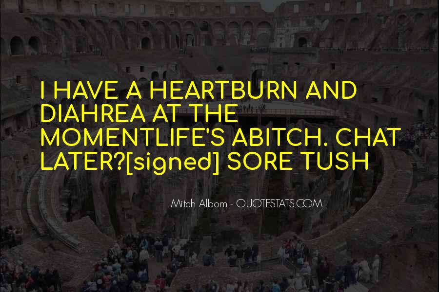 Diahrea Quotes #1289378