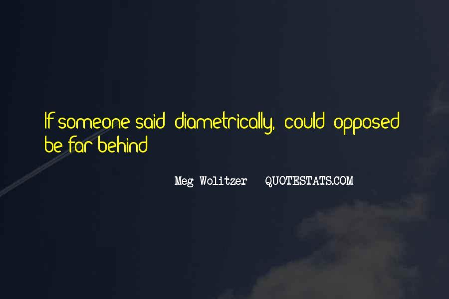 Diametrically Quotes #423393