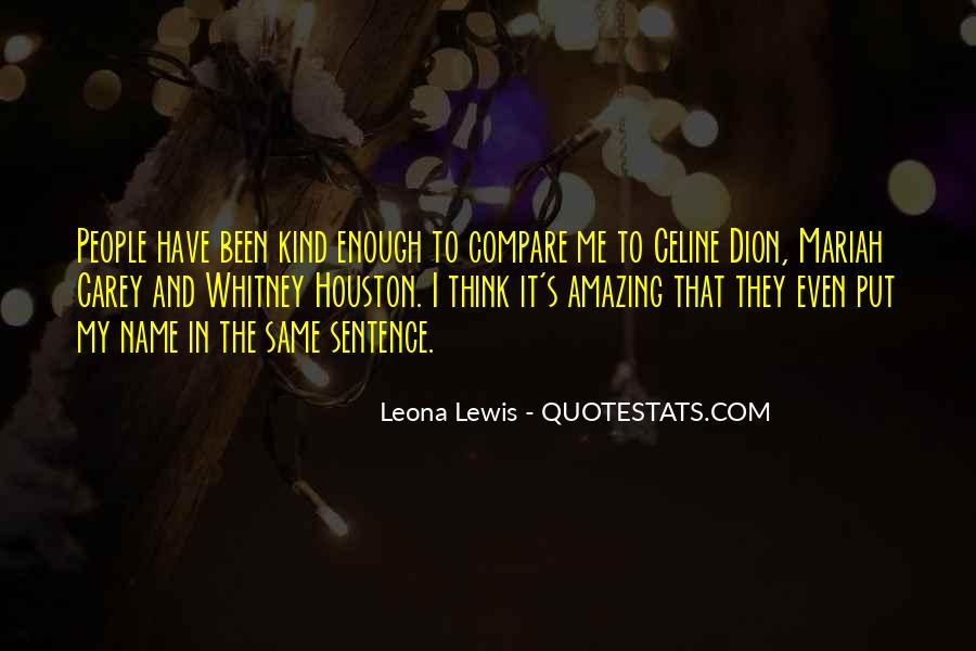 Dion's Quotes #17412