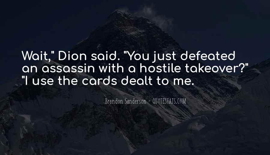 Dion's Quotes #92931