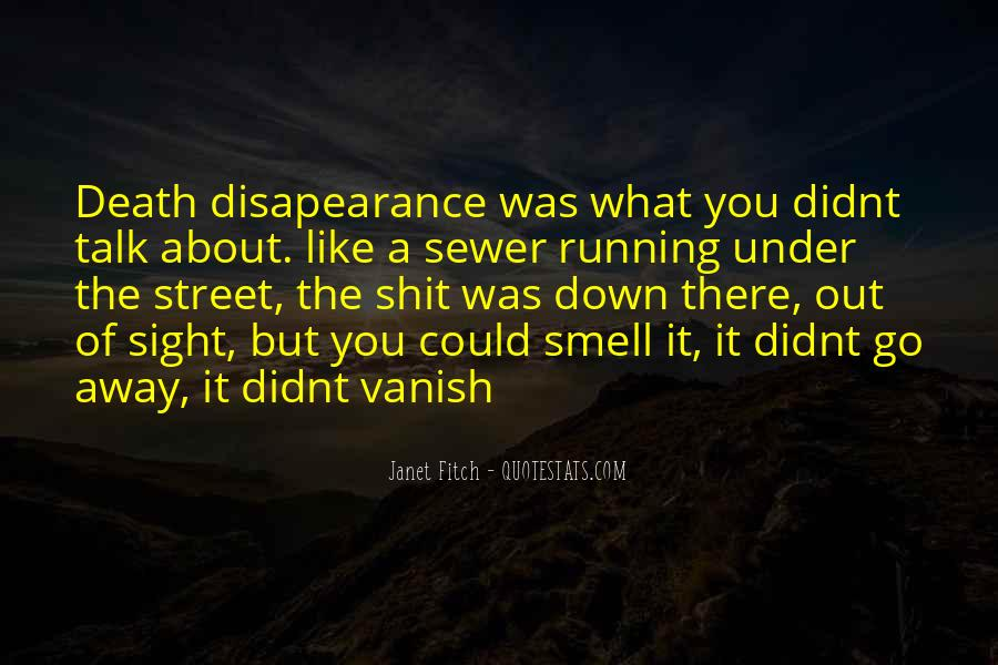 Disapearance Quotes #262474