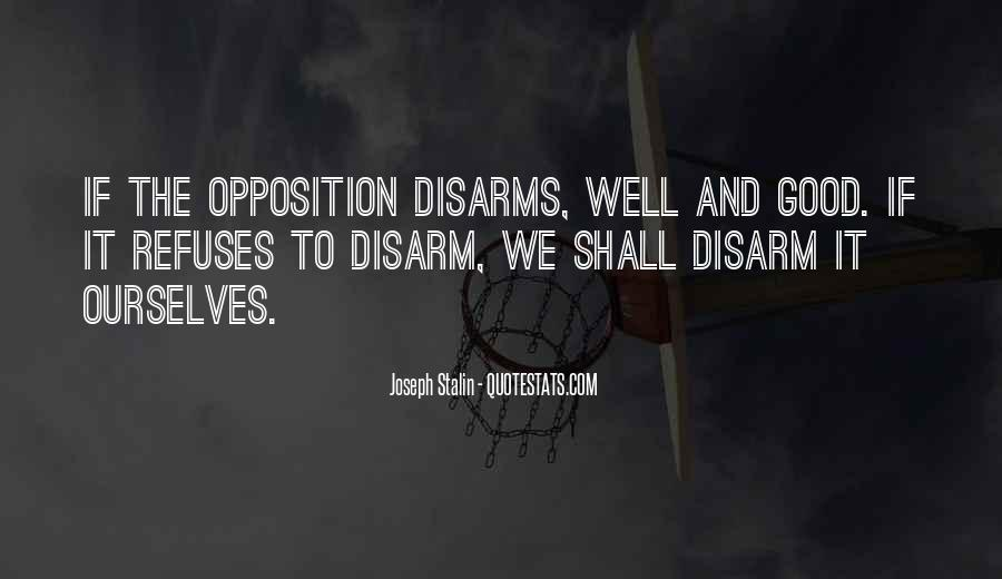 Disarms Quotes #213175