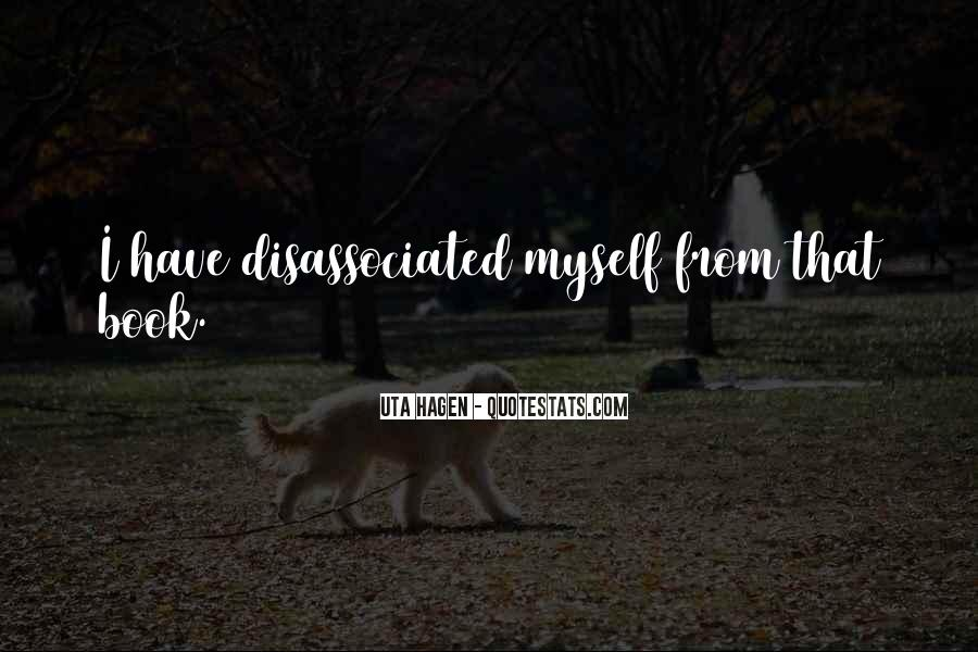 Disassociated Quotes #1576530