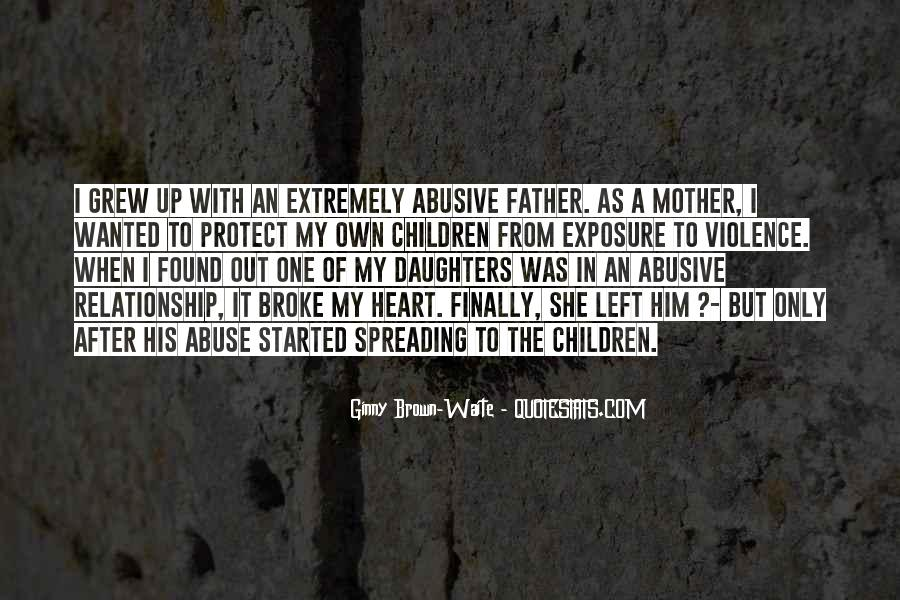 Quotes About Father And Daughter Relationship #1856731