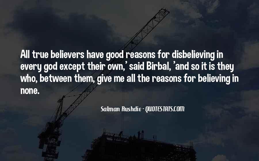 Disbelieving Quotes #1192058