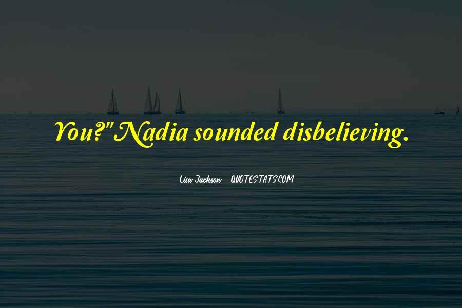 Disbelieving Quotes #153595
