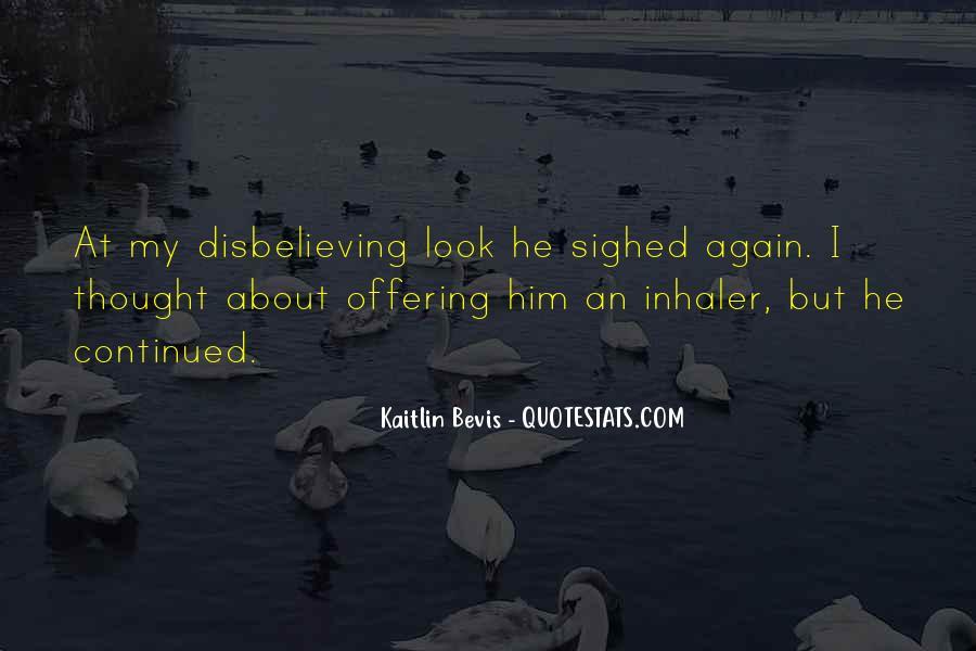 Disbelieving Quotes #1670637