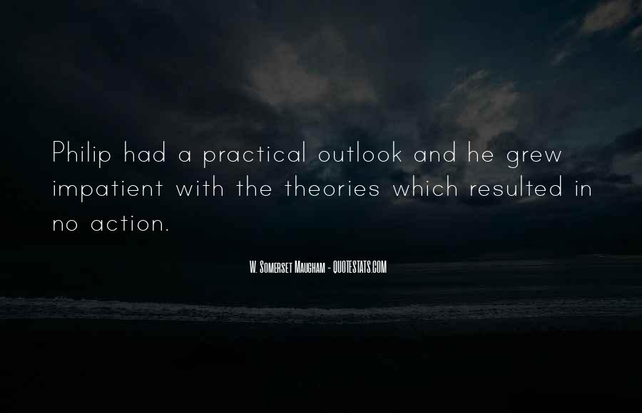 Quotes About Outlook In Life #1684115