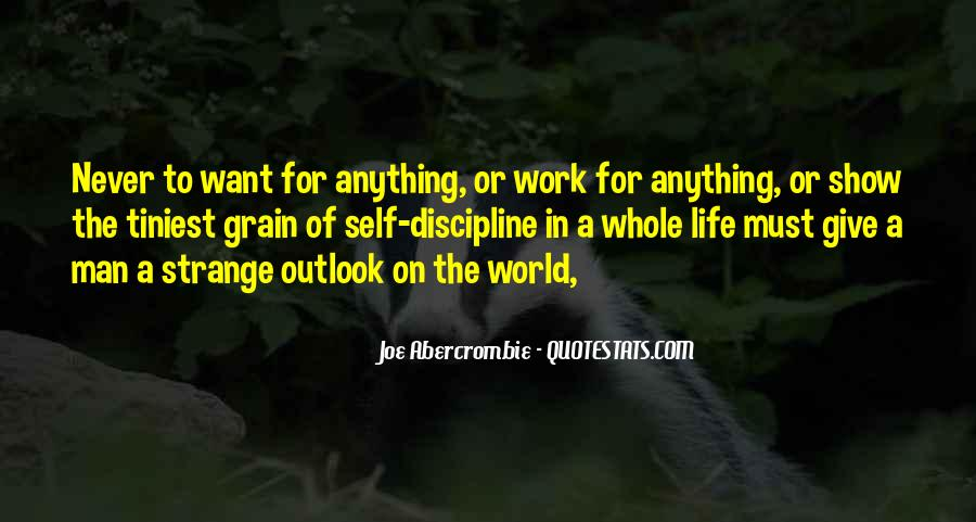 Quotes About Outlook In Life #1839740