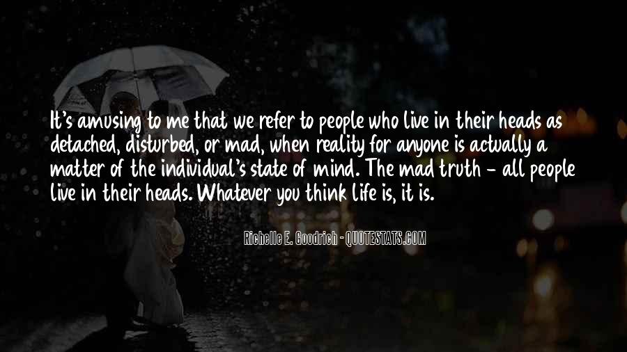 Quotes About Outlook In Life #192979