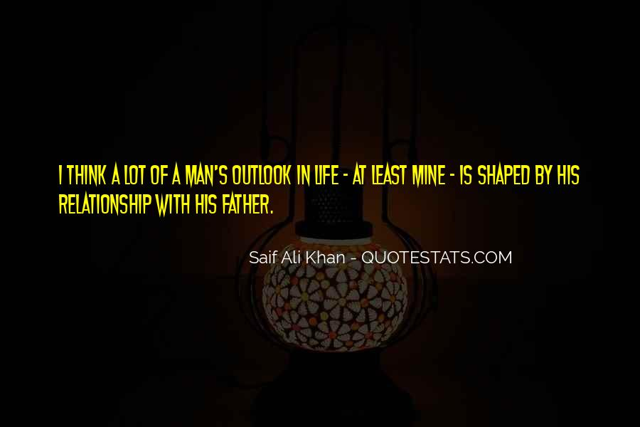Quotes About Outlook In Life #76710