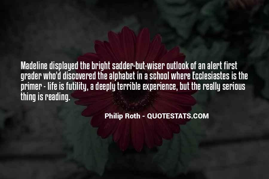 Quotes About Outlook In Life #896777