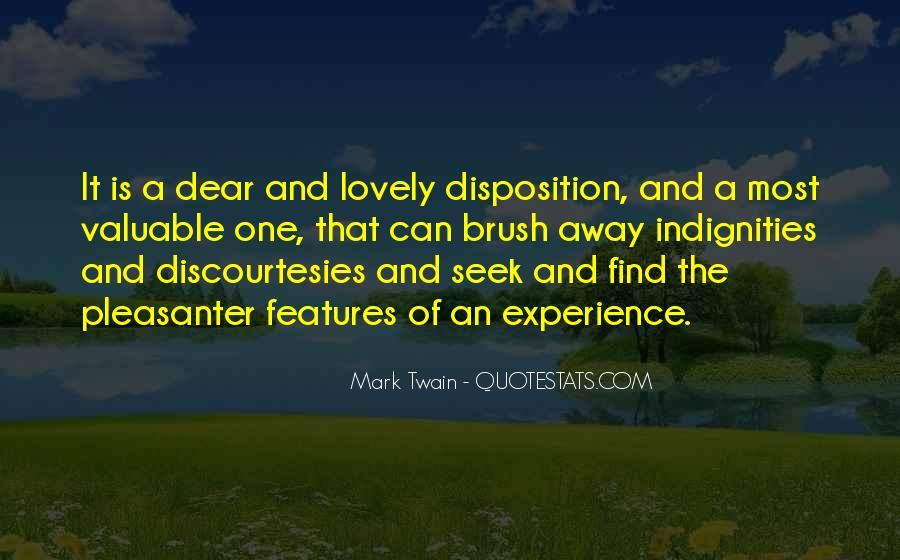 Discourtesies Quotes #1402005
