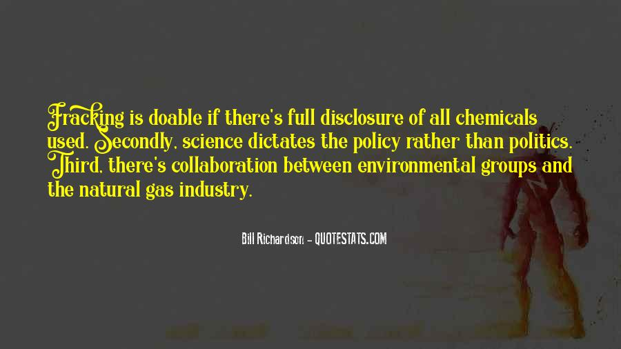 Quotes About Environmental Science #1253456