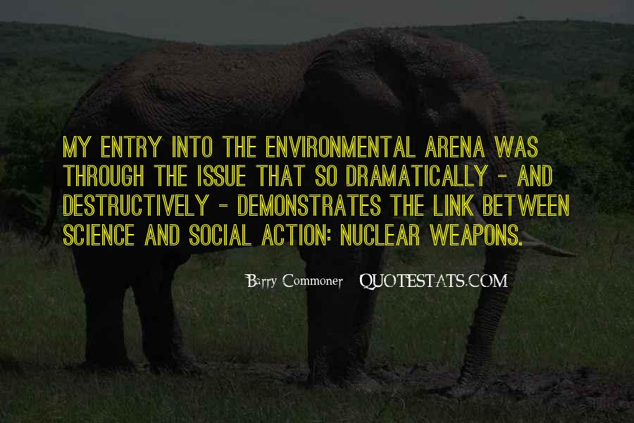 Quotes About Environmental Science #1371404