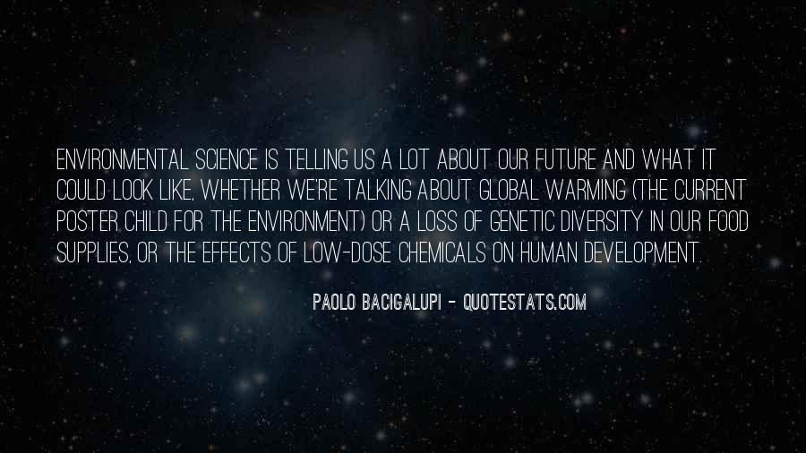 Quotes About Environmental Science #170463