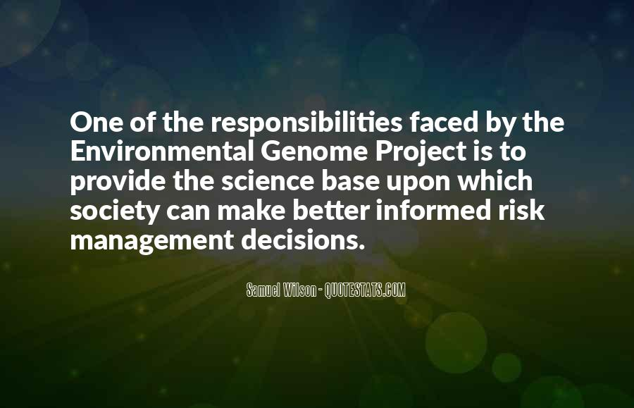 Quotes About Environmental Science #1761071