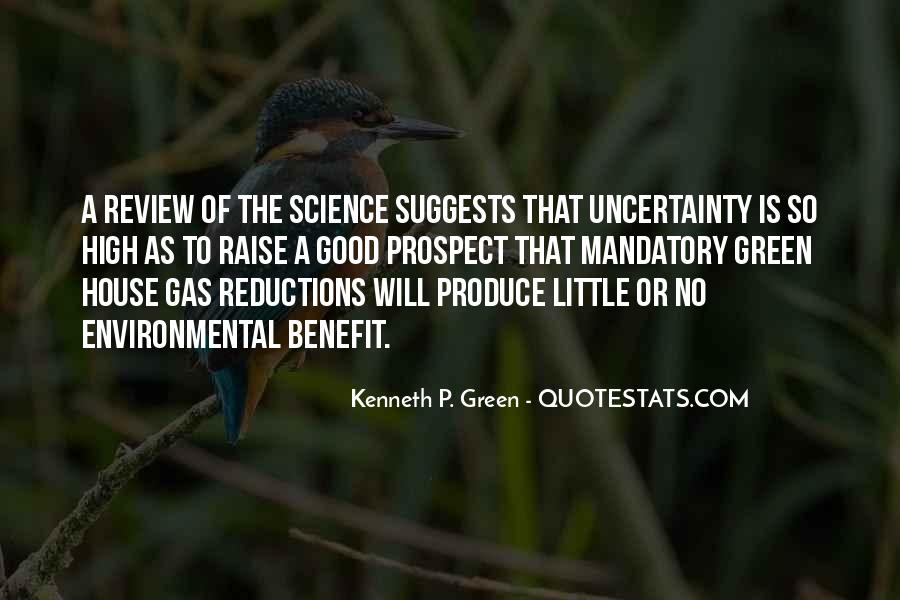 Quotes About Environmental Science #1852609