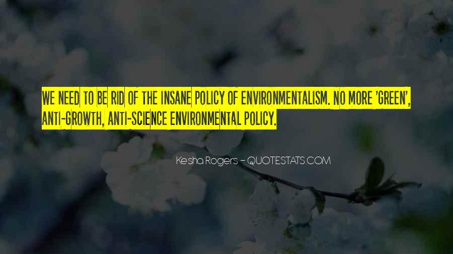 Quotes About Environmental Science #400058