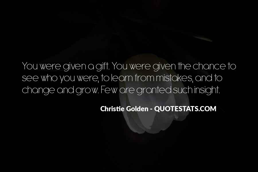 Quotes About Change And Mistakes #1058928
