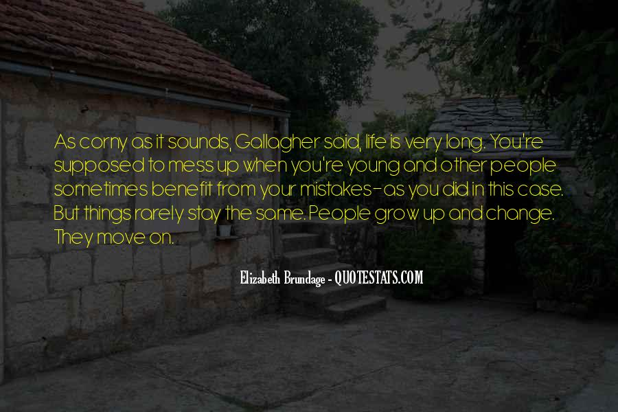 Quotes About Change And Mistakes #1205883