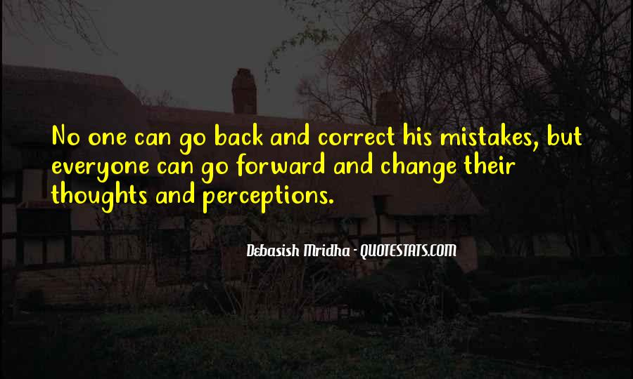 Quotes About Change And Mistakes #1216545