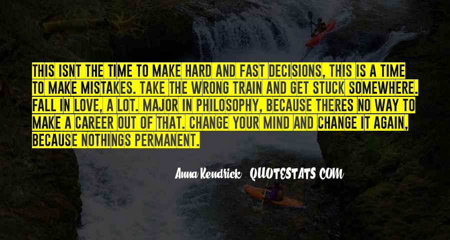 Quotes About Change And Mistakes #1452515