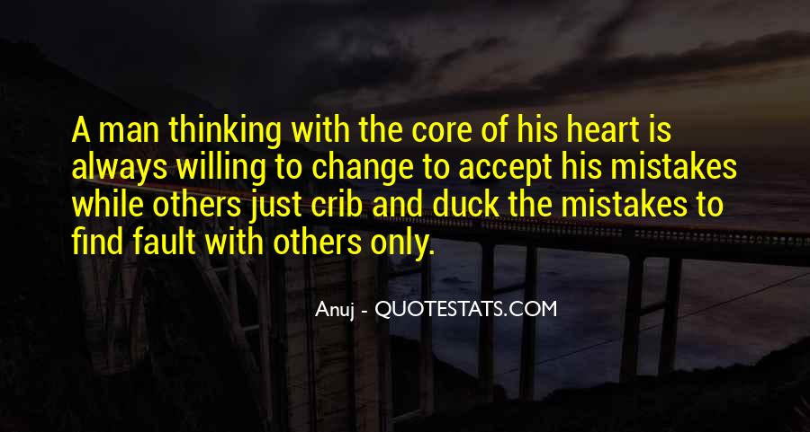 Quotes About Change And Mistakes #1554315