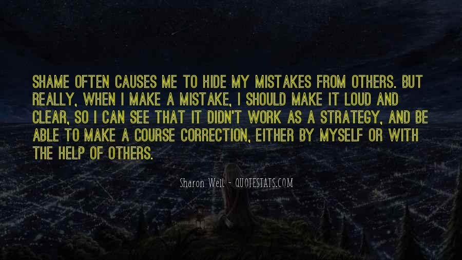Quotes About Change And Mistakes #1583055