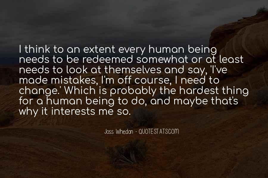Quotes About Change And Mistakes #441208