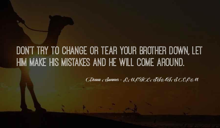 Quotes About Change And Mistakes #688402