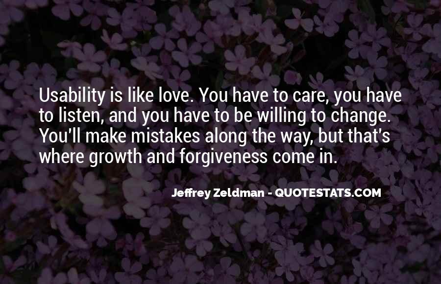 Quotes About Change And Mistakes #706756