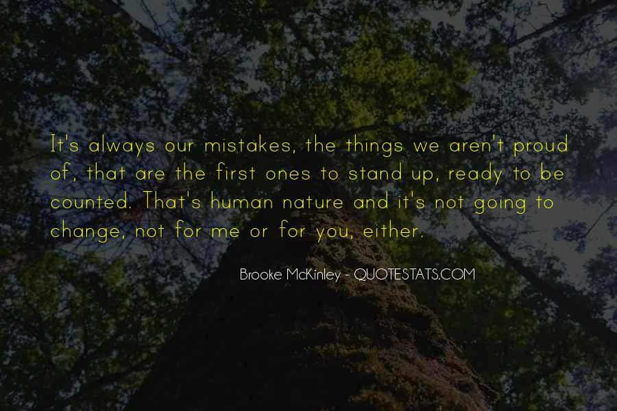 Quotes About Change And Mistakes #780913
