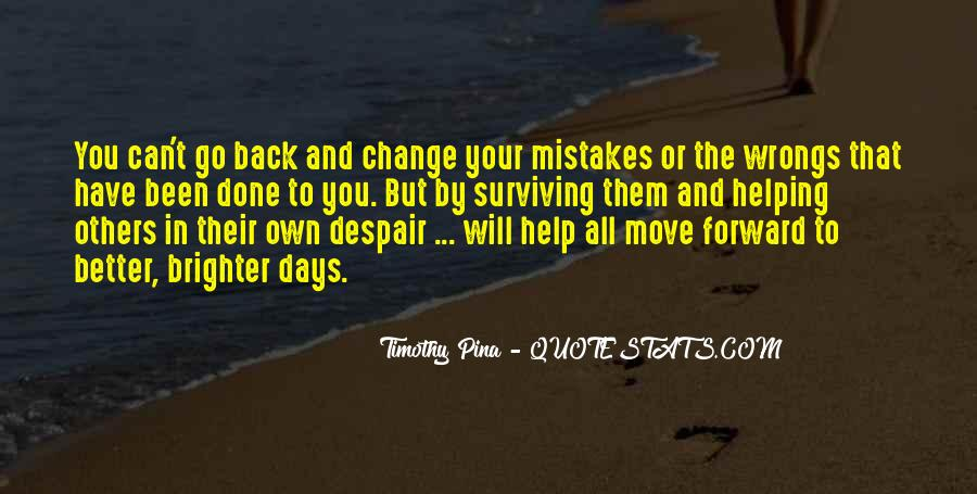 Quotes About Change And Mistakes #839775