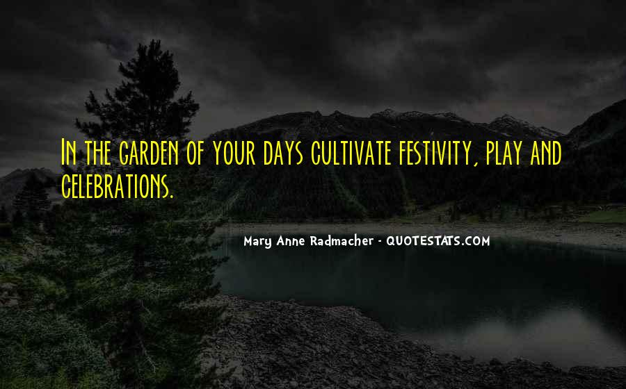 Quotes About Celebration #172509