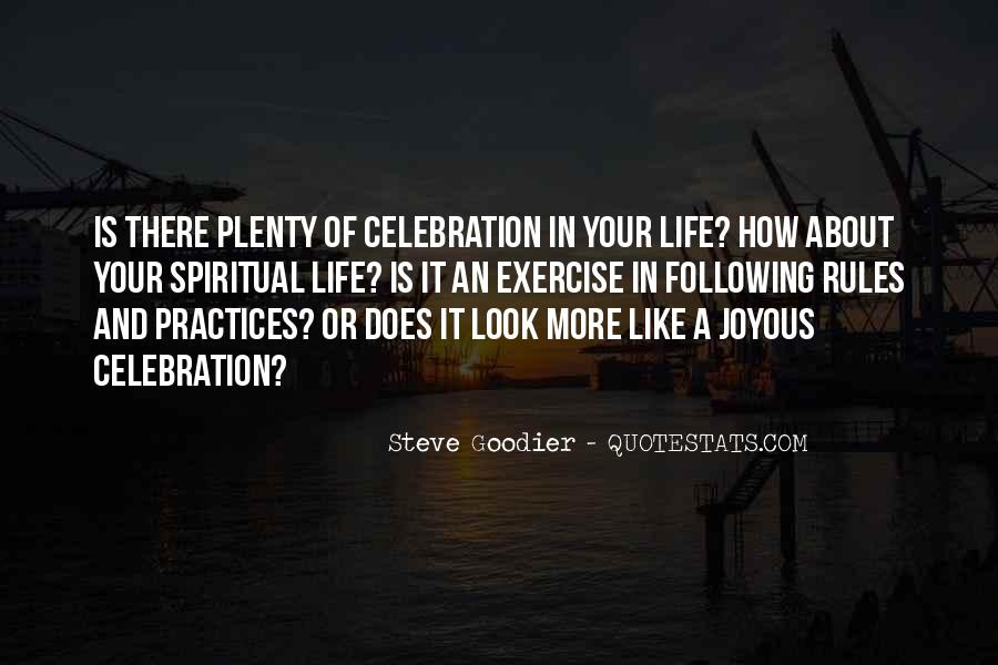Quotes About Celebration #233278