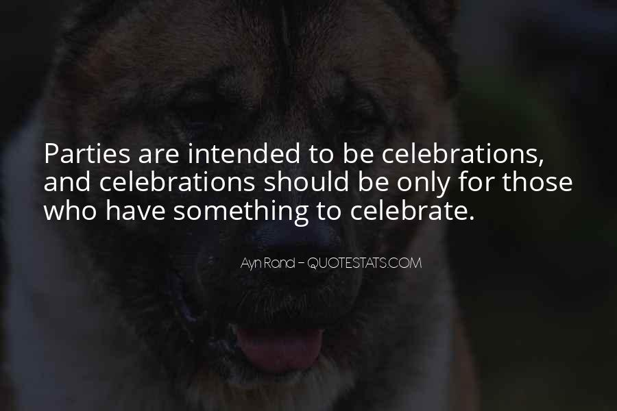 Quotes About Celebration #40206