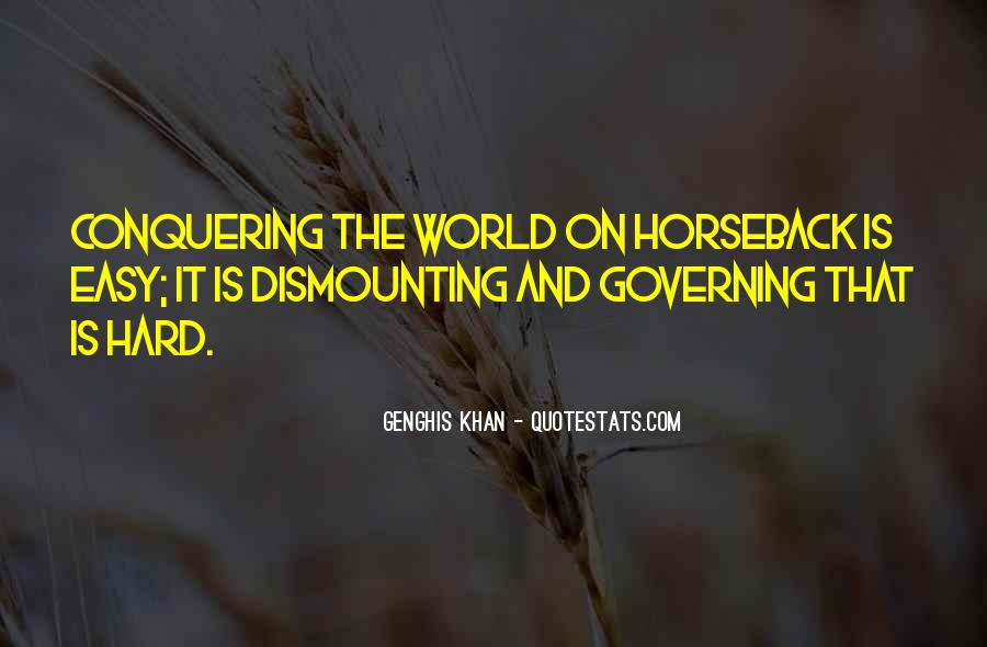 Dismounting Quotes #496410