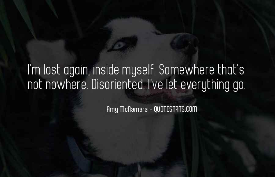 Disoriented Quotes #110391