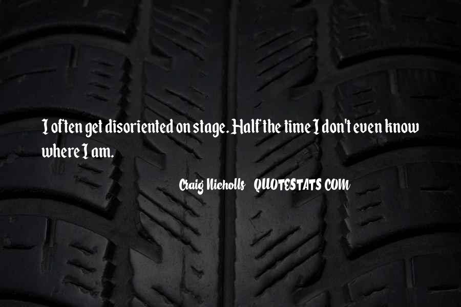 Disoriented Quotes #621463