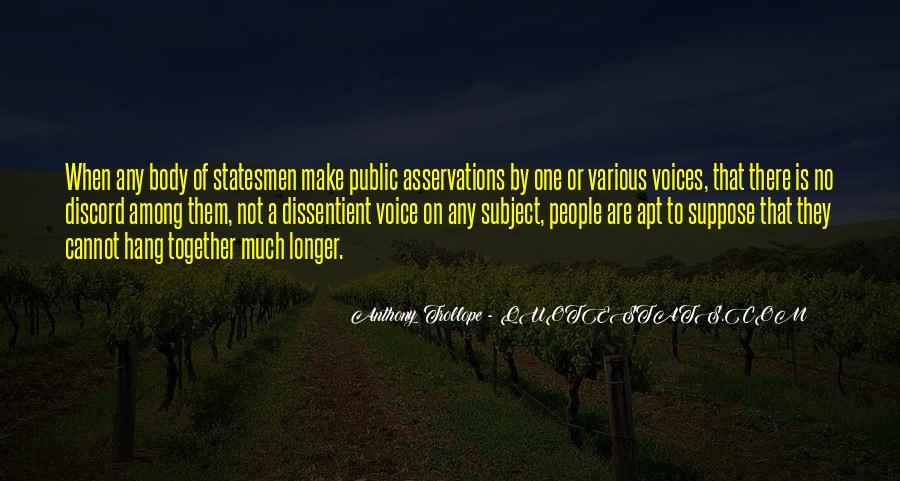 Dissentient Quotes #860466