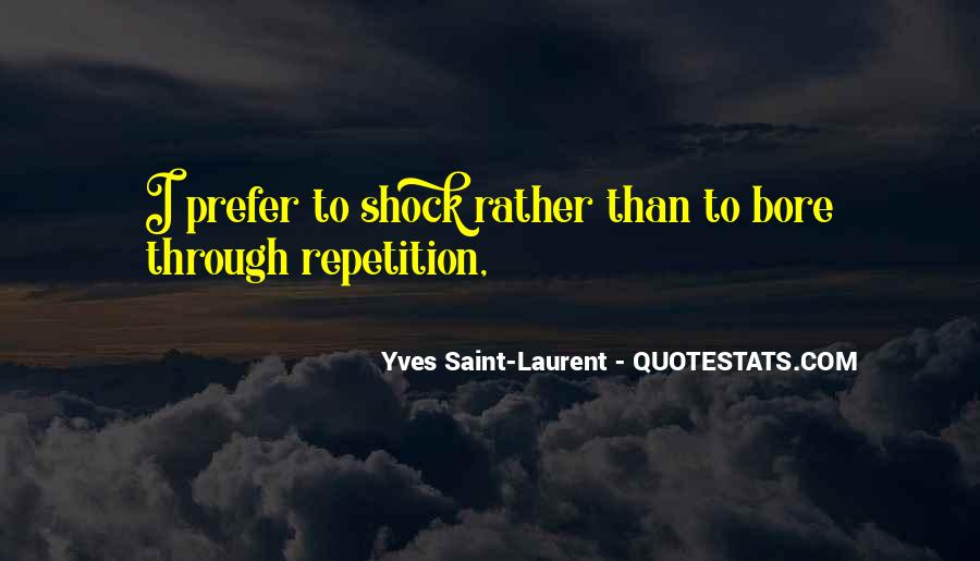 Quotes About Repetition #128290