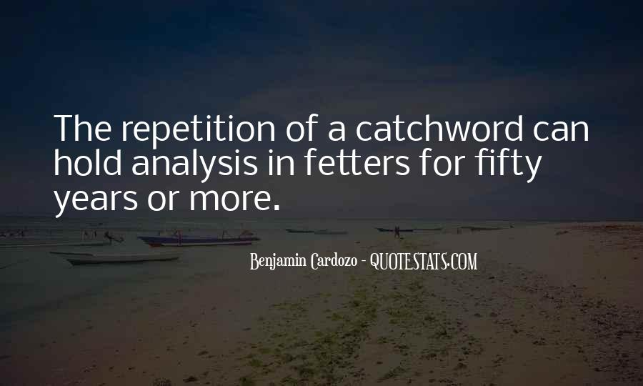 Quotes About Repetition #144157